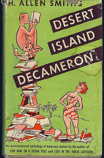 Thorne Smith in Desert Island Decameron Hardcover dust jacket