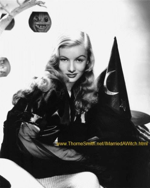 Veronica Lake in I Married A Witch promo